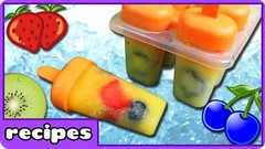 Summer Treats : Healthy Homemade Fruit Popsicles | Fun Foods by HooplaKidz Recipes (Healthy Fun Fitness) Tags: summer treats healthy homemade fruit popsicles | fun foods by hooplakidz recipes
