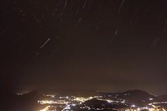 Startrail (CaresMa) Tags: sicily erice startrail night sky stars