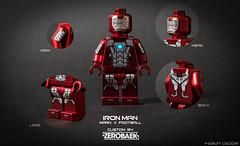 IRONMAN_BY ZEROBAEK (zerobaek0100) Tags: zerobaek lego hobby minifigure collection custom ironman movie mark5 mark6 mark7 mark15 mark17 mark18 mark20 mark41 mark39 mark33 mark36 mark42 mark46 warmachine mark23 seriese suit handcraft hero marvel superhero