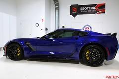 E43A3973 (Esoteric Auto Detail) Tags: corvette z06 chevrolet admiralblue conti coughlin esoteric kamikaze enrei ppf suntek
