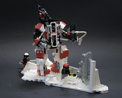 Heavy combat exo suit (Faber Mandragore) Tags: lego moc scifi heavy combat exo suit warhammer post apocalyptic legomech