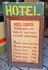 Hotel sign in Talpa, one of Mexico's Pueblos Magicos in the Pacific high sierras (albatz) Tags: sierramadre westcoast buildings talpa mexico pueblosmagicos pacific high sierra hotel sign jalisco town