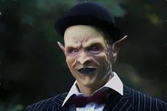 May I Help You? (Brian 104) Tags: halloween character mask eerie menacing digitalart