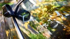 Audi (romain_castellani) Tags: sigma50mmf14dghsmart sigma nikon d750 c1 audi voiture car technologie technology automne autumn france gard reflection reflets vitre glass jeune yellow vert green volant wheel dof