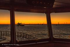 Bridge view (Askjell's Photo) Tags: atlanticocean belgium blighbank maritime northatlantic northsea ocean offshore sea ships vessel windturbine windmill windpower askjell
