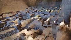 DSCF0043 glise monolithe d'Aubeterre-sur-Dronne (Charente) (Thomas The Baguette) Tags: aubeterresurdronne charente france monolith cave church tympanum glise glisenotredame saintjacques caminodesantiago sexyguy chateau cloister minimes mithra mithras cult