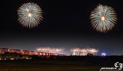 300(firework ) (CJason_Photo) Tags: firework   cj d800e nikon  roc   taiwan  changhua      xiluo  bridge  yunlin    matsu fuxin fuxinggong  temple