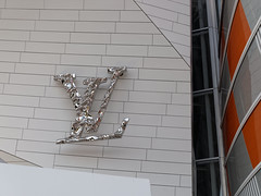 Fondation Louis Vuitton (Passeret) Tags: louisvuitton vuitton fondationlouisvuitton boisdeboulogne paris burren danielburren panasonic lumix gm1 dmcgm1