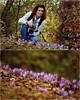 Шафранов минзухар (Crocus Sativus) (pepa kostova) Tags: шафранов минзухар crocus sativus varna bulgaria autumn beautiful flowers park nikon girl smile forest