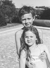 _DSC9453 (David Soanes Photography) Tags: dordogne nikon d3 28 france summer holiday martha ethan swimming pool