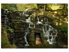 0083, Waterfall 09,16x12 (mikeinfleet) Tags: virginiawater surrey waterfall falls water