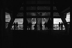 New Vista (instagram.com/the_big_smoke_/) Tags: street streetphotography streetscene scene streetphoto shadows streets silhouettes sunlight candid composition compo geometry angles light lines perspective robmchale reflections cityscape vista viewpoint london people peoplewatching photography photo architecture buildings urban uk urbanstreets england britain bw blackandwhite monochrome mono central city centre outdoors skyline capture contrast comp southbank streetcandid