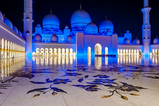 Abu Dhabi - Sheikh Zayed Grand Mosque (4)