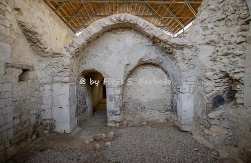Sant'Angelo dei Lombardi (AV), 2016, Il Castello Longobardo o degli Imperiale: la Cattedrale romanica.