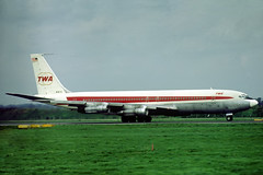 N18711 Boeing 707-331B TWA Trans World Airlines (pslg05896) Tags: n18711 boeing707 twa transworldairlines lhr egll london heathrow