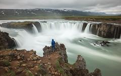 Landscape photographer (GrandJr) Tags: blue grandjr nikon 24mm longexposure water waterfall iceland izland landscape d3 europe rocks outdoor fx hoya nd nd1000 ngc