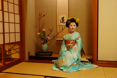 Maiko20161119_06_13 (kyoto flower) Tags: kodaiji temple fukuno kyoto maiko 20161119      noblesseoblige