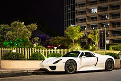 White 918 (David Clemente Photography) Tags: porsche porsche918 porsche918spyder porsche918hybrid 918 918spyder 918hybrid white918 monaco montecarlo supercars hypercars