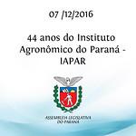 44 Anos do IAPAR