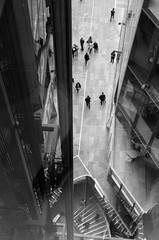 Elevator, One New change (raphael.chekroun) Tags: onenewchange london elevator architecture city bank england uk up bw noir et blanc monochrome