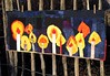 Lichtermeer (Lizinnie) Tags: kerzen candles wonky liberated 12bowleggedcurvybees