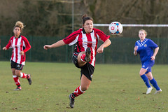 Altrincham LFC vs Stockport County LFC - December 2016-148 (MichaelRipleyPhotography) Tags: altrincham altrinchamfc altrinchamlfc altrinchamladies alty amateur ball community fans football footy header kick ladies ladiesfootball league merseyvalley nwrl nwrldivsion1south nonleague pass pitch referee robins shoot shot soccer stockportcountylfc stockportcountyladies supporters tackle team womensfootball