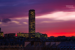 Tour Montparnasse, Paris (www.fromentinjulien.com) Tags: fromus75 fromus fromentinjulien fromentin flickr view exposure shot hdr dri manual blending digital raw photography photo art photoshop lightroom photomatix french francais light traitements effets effects world europe france paris parisien parisian capitale capital ville city town citt cuida colocacin monument history 2016 photographe photographer dslr eos canon 6d fullframe full frame ff 70200mm 70200 canonef70200mmf28l canon70200mmf28 urban travel architecture cityscape street seine sunset purple coucherdesoleil tourmontparnasse rooftop toit