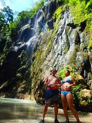 ツマログ滝とまんぷく夫婦 (Mr. and Mrs. Manpuku) Tags: フィリピン