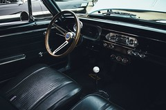 Drive It Like You Stole It (davelawrence8) Tags: 2015 automobile canoneosm carparts classiccar cruisenight downtown jackson summer vsco mi usa dashboard steeringwheel