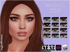 Winter Eyes (.Aula.) Tags: secondlife insufferabledastard eyes
