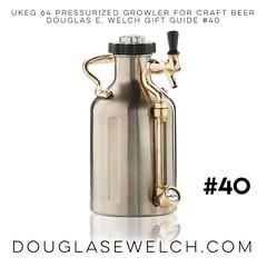 uKeg 64 Pressurized Growler for Craft Beer | Douglas E. Welch Gift Guide #40 #gift #beer #craftbeer #growler #food #drink (dewelch) Tags: ifttt instagram ukeg 64 pressurized growler for craft beer | douglas e welch gift guide 40 craftbeer food drink