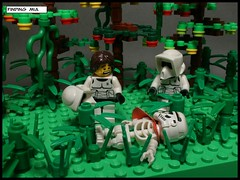130106 Finding MIA (Lost Trooper) Tags: forest skeleton lego mia endor 2013