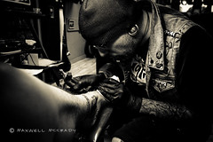 (xxMaxwellxx) Tags: bw tattoo tattooartist