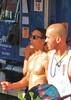 PrideSat 130 (danimaniacs) Tags: gay shirtless man hot sexy guy pecs la losangeles chest hunk pride westhollywood pridesat