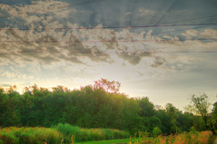 A Filtered Sky (kendoman26) Tags: hdr photomatix sky clouds sun sonyalpha sonya57 sonyslta57 sigma1850f2845 lensflare