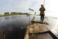 IMG_3849 (Slava Terebov) Tags: road street wood boy sunset sky lake fish tree water grass canon river children lens outdoors countryside spring fishing focus village russia country fisheye manual grassland 8mm manualfocus herb wod samyang 550d greenfodder canon550d ppb6df