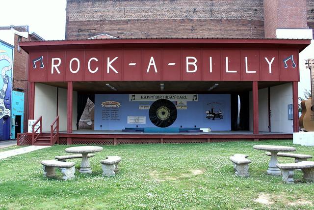 Jackson, TN Rock-a-Billy Stage