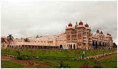 Mysore Palace, India (Nithi clicks) Tags: old travel india house holiday heritage history tourism monument beautiful festival architecture asian ancient asia exterior artistic outdoor top indian famous rich royal landmark palace historic dome historical karnataka mysore luxury built dasara dussehra