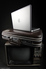 MacBook Pro (Abdullah Aldahmash) Tags: life lighting apple bag tv still pro       macbook