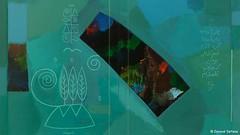 """داود سرفراز، در تابلوی """"یک تنگ بلور طبیعت"""" میکوشد به وحدت انسان با طبیعت دست یابد . کشف و شهودی که با رنگ آبی و گردشهای نرم قلم مو و شعری سپید همراه است: «... و من که حذف فاصلهام...» (JoindHands) Tags: freedom iran و به الله من در proxy arman حسین sabz « راه تهران رنگ با طبیعت است علی که خاتمی اصلاح انسان شورای آبی دست قلم همراه طلب شکوری سپید kalame وحدت موسوی آیت جبهه میر مشارکت تابلوی کشف حذف jonbesh خوئینی هماهنگی سبزامیدار ادشیر امیرارجمند شعری یابد یکتنگبلورطبیعت شهودی گردشهای نرم مو فاصلهام» مشارکتداود سرفراز، میکوشد"""