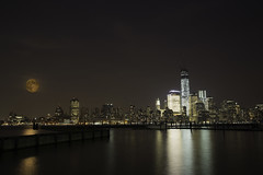 World Trade Center (baobaomao) Tags: nyc newyorkcity jerseycity downtown waterfront manhattan worldtradecenter nj newport