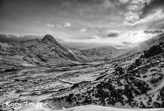 March sunset - Ogwen valley (Rory Trappe) Tags: winter sunset snow mountains train dawn nationalpark sheepdog greece snowdon celtic snowdonia typhoon nuclearpower kephalonia gwynedd eryri tryfan dolwyddelan ffestiniograilway northwales blaenauffestiniog moelsiabod gr4 audir8 machloop llynogwen ogwenvalley magnox cwmorthin aviationphotography raftornado rorytrappe bbccountryfile canon5d3 tycano