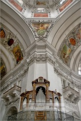 Interior of Salzburg Cathedral | Austria (Stefan Cioata) Tags: old travel vacation holiday salzburg tourism beautiful photography austria marketing town europe view cathedral image roman sale dom exploring details religion great joy visit explore most destination sight lovely top10 baroque altstadt iconic available advertise salzburger catholica ostreich touristical