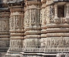 Gottes Steine.Surya-Tempel, Ranakpur.