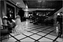 Newlyweds, The Rose Hotel, Pleasanton, CA, September 15, 2013 (Maggie Osterberg) Tags: california wedding bw groom bride blackwhite gr ricoh pleasanton maggieo therosehotel silverefexpro2 183mmf28 travelswithmom2013