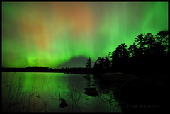 BWCA Northern Lights (glennwadsworth) Tags: minnesota lights nikon long exposure canoe tokina aurora area waters wilderness northern boundary borealis d90 explored ep16 laclacroix intervelometer 1116mm mooserivernorth