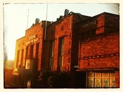 Town Hall (florahaggis) Tags: sunset sunrise australia victoria townhall storms horsham wilsonstreet pc3400 flickrandroidapp:filter=none zclouds