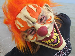 Spookie Beach Clown