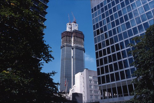 Nat West Tower Construction - Sept 1977