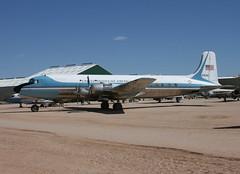 USAF VC-118A 53-3320 Pima 15.3.2012 (Retro Jets) Tags: pima usaf c118